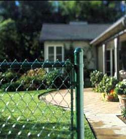 6 ft Chain link Fence, price per ft, Black Package Prices, Vinyl